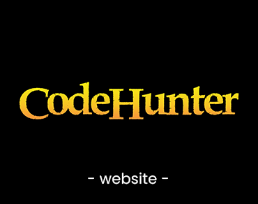 CodeHunter – Concept Website